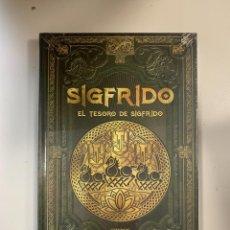 Libros: MITOLOGÍA NÓRDICA SIGFRIDO EL TESORO DE SIGFRIDO - NUEVO. Lote 295581578
