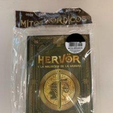 Libros: HERVOR Y LA MALDICIÓN DE LA SANGRE - COLECCIÓN MITOLOGÍA NÓRDICA. Lote 295585753