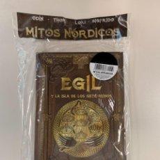 Libros: EGIL Y LA ISLA DE LOS SIETE REINOS - COLECCIÓN MITOLOGÍA NÓRDICA - NUEVO. Lote 295587123