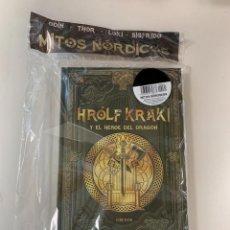 Libros: HROLF KRAKI Y EL HÉROE DEL DRAGÓN - COLECCIÓN MITOLOGÍA NÓRDICA - NUEVO. Lote 295588303
