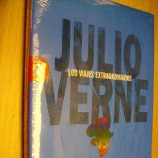 Libros: CINCO SEMANAS EN GLOBO DE JULIO VERNE -NUEVO Y PRECINTADO. Lote 296714573