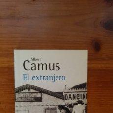 Libros: EL EXTRANJERO ALBERT CAMUS. Lote 296911308