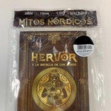 Libros: COLECCIÓN MITOLOGÍA NÓRDICA HERVOR Y LA BATALLA DE LOS HUNOS - NUEVO. Lote 296940508