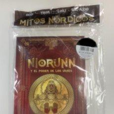 Libros: COLECCIÓN MITOLOGÍA NÓRDICA NORUNN Y EL PODER DE LOS VANES - NUEVO. Lote 296940973
