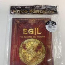 Libros: COLECCIÓN MITOLOGÍA NÓRDICA EGIL Y EL RESCATE DEL ESCALDO - NUEVO. Lote 296941713