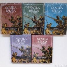 Libros: LOTE 5 EJEMPLARES NOVELA BÉLICA (PRECINTADAS). Lote 297041333