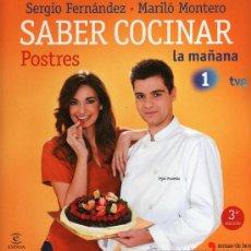 Libros: SABER COCINAR: POSTRES - ESPASA, 2012 (NUEVO). Lote 34914841