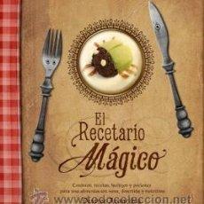 Libros: COCINA. GASTRONOMÍA. EL RECETARIO MÁGICO - DESIREE ARANCIBIA (CARTONÉ). Lote 95974078