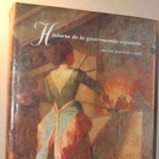 Libros: HISTORIA DE LA GASTRONOMÍA ESPAÑOLA - MANUEL MARTÍNEZ LLOPIS. Lote 41778790