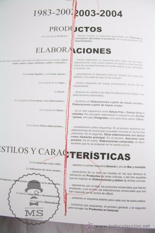 Libros: Pareja Libros - El Bulli 2003 y 2004. Ferran Adrià, Juli Soler y Albert Adrià - El Bulli Books - Foto 12 - 109776372
