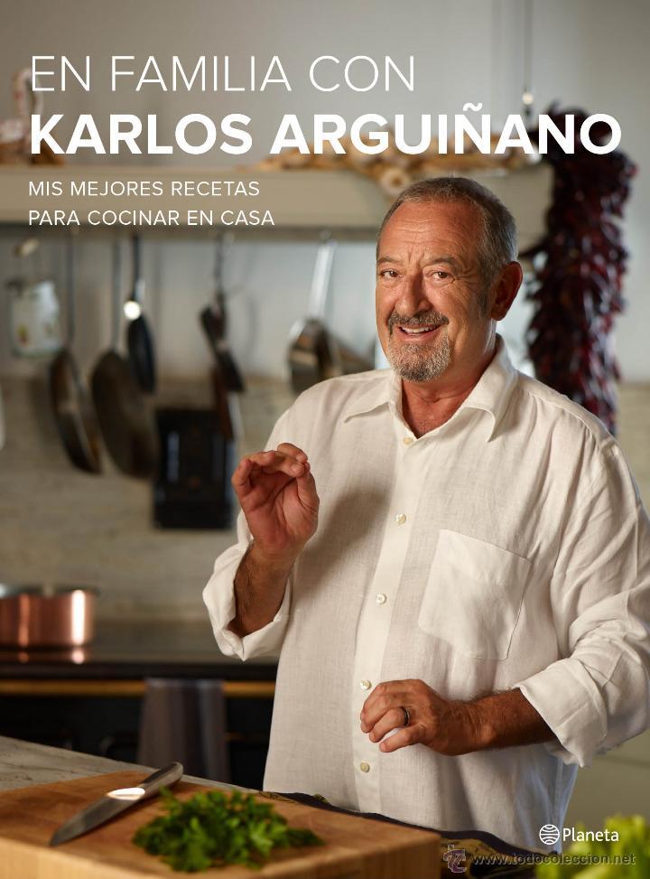 COCINA. GASTRONOMÍA. EN FAMILIA CON KARLOS ARGUIÑANO - KARLOS ARGUIÑANO (CARTONÉ) (Libros Nuevos - Ocio - Cocina y Gastronomía)