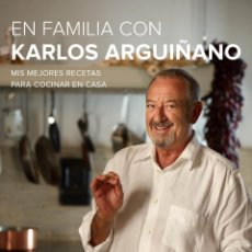 Libros: COCINA. GASTRONOMÍA. EN FAMILIA CON KARLOS ARGUIÑANO - KARLOS ARGUIÑANO (CARTONÉ). Lote 52606183