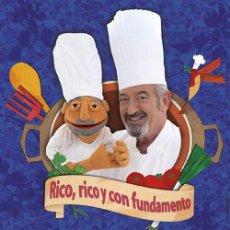 Libros: COCINA. GASTRONOMÍA. RICO, RICO Y CON FUNDAMENTO - KARLOS ARGUIÑANO (CARTONÉ). Lote 52665510