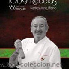 Libros: COCINA. GASTRONOMÍA. 1069 RECETAS - XX ANIVERSARIO - KARLOS ARGUIÑANO (CARTONÉ). Lote 52666517