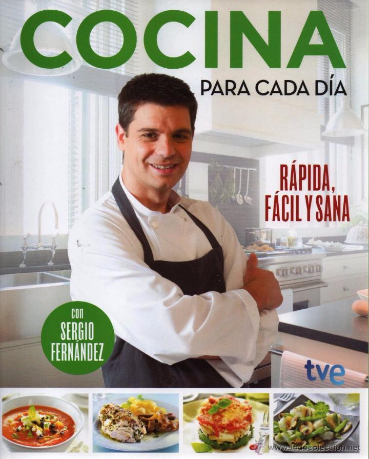 Cocina De Sergio Fernandez | Cocina Para Cada Dia Con Sergio Fernandez Rap Comprar Libros