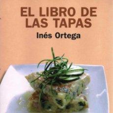 Libros: EL LIBRO DE LAS TAPAS DE INES ORTEGA - ALIANZA EDITORIAL, 2009 (NUEVO). Lote 217936595