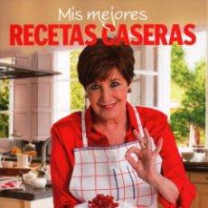 Libros: MIS MEJORES RECETAS CASERAS CON CONCHA VELASCO - RBA, 2015 (NUEVO). Lote 55130685
