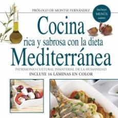 Libros: COCINA RICA Y SABROSA CON LA DIETA MEDITERRÁNEA (2011) - MONTSE FERNÁNDEZ - ISBN:9788431550851. Lote 60210999