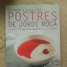 Libros: POSTRES DE JORDI ROCA. Lote 67734938