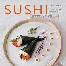 Libros: SUSHI : RECETAS Y VIDEOS. Lote 70603961