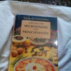 Libros: C3___LIBRO NUEVO,PRECINTADO COCINA CON MICROONDAS PARA PRINCIPIANTES_,MIDE 15X23X1CM. Lote 81827232