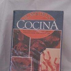 Libros: ARTE EN LA COCINA ARTE EN LA REPOSTERIA 8 TOMOS. Lote 90673695
