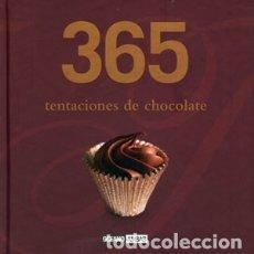 Libros: 365 TENTACIONES DE CHOCOLATE OCÉANO-AMBAR. Lote 98000611