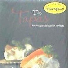 Libros: DE TAPAS PARRAGON. Lote 98001116