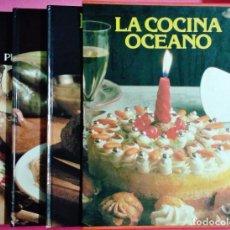Libros: LA COCINA OCEANO - 4 TOMOS CON ESTUCHE - ED OCEANO - GRAN FORMATO - AÑO 1983. Lote 98137995