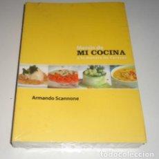 Libros: MENU DE COCINA A LA MANERA DE CARACAS POR ARMANDO SCANNONE. Lote 98170939