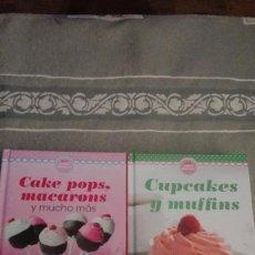 Libros: 2 LIBROS DE REPOSTERÍA, EDITORIAL MINI DULCES. LOS LIBROS A VENDER SON LOS DE LA FOTOGRAFÍA. Lote 99564995