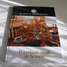 Libros: PRECIOSA COLECCION DE 5 LIBROS NUEVOS SIN DESEMBALAR DEL ARTE DE SERVIR LA MESA LOS DE LAS FOTOS. Lote 104349871