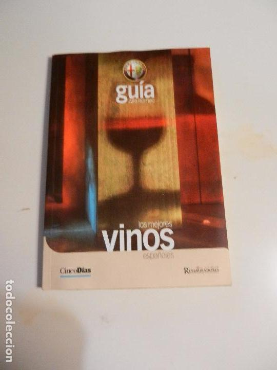 LOS MEJORES VINOS ESPAÑOLES GUÍA ALFA ROMERO RESTAURADORES. (Libros Nuevos - Ocio - Cocina y Gastronomía)