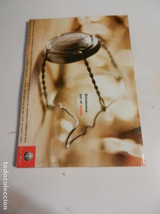 Libros: LOS MEJORES VINOS ESPAÑOLES GUÍA ALFA ROMERO RESTAURADORES. - Foto 2 - 104801227