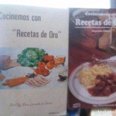 Livres: COCINEMOS CON RECETAS DE ORO , OLGA PEREZ GUISASOLA DE CACERES , GUATEMALA C.A. Lote 111600747