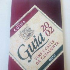 Libros: GUIA DE VINS I CAVES 2002. Lote 109164643
