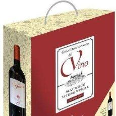 Libros: GRAN ENCICLOPEDIA DEL VINO (2011) - INCLUYE BOTELLA RIBERA DEL DUERO !!! - ISBN: 9788435065207. Lote 110032007