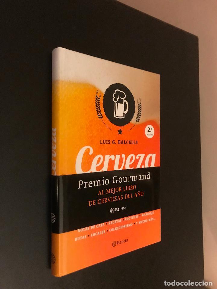 CERVEZA, LA BEBIDA DE LA FELICIDAD. LUIS G. BALCELLS (Libros Nuevos - Ocio - Cocina y Gastronomía)