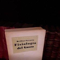 Libros: FISIOLOGÍA DEL GUSTO BRILLAT - SAVARIN. Lote 121221791