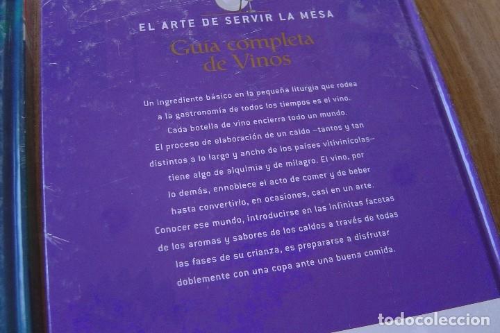 Libros: LOTE: 5 VOLÚMENES EL ARTE DE SERVIR LA MESA. PRECINTADOS. - Foto 7 - 121638159