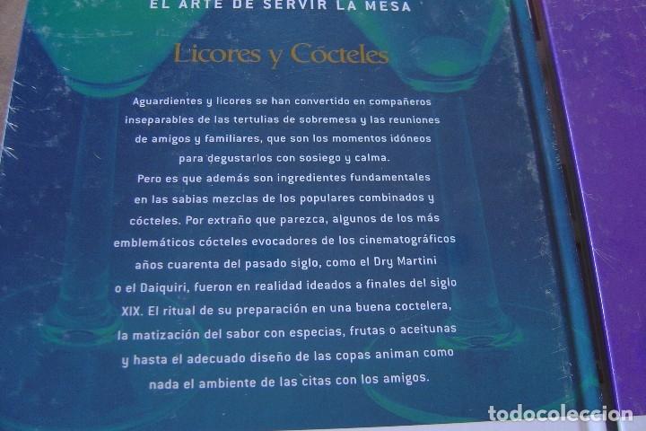 Libros: LOTE: 5 VOLÚMENES EL ARTE DE SERVIR LA MESA. PRECINTADOS. - Foto 8 - 121638159