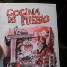 Libros: COCINA DE PUEBLO, EDITORIAL SETECO.. Lote 121645583