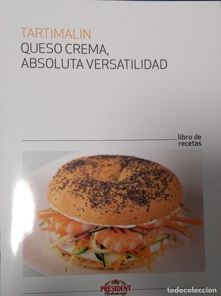 LIBRO DE RECETAS TARTIMALIN QUESO CREMA ABSOLUTA VERSATILIDAD 31 PAGINAS, usado segunda mano