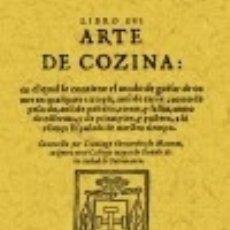 Libros: LIBRO DEL ARTE DE COZINA. Lote 67908030
