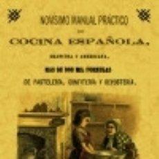 Libros: NOVÍSIMO MANUAL DE COCINA ESPAÑOLA, FRANCESA Y AMERICANA MAXTOR EDITORIAL. Lote 67908073
