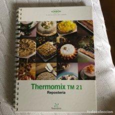 Libros: THERMOMIX REPOSTERIA. Lote 128561488