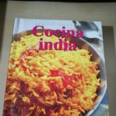 Libros: RECETAS SABROSAS. COCINA INDIA.. Lote 130924180