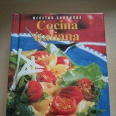 Livres: RECETAS SABROSAS. COCINA ITALIANA. Lote 130924884