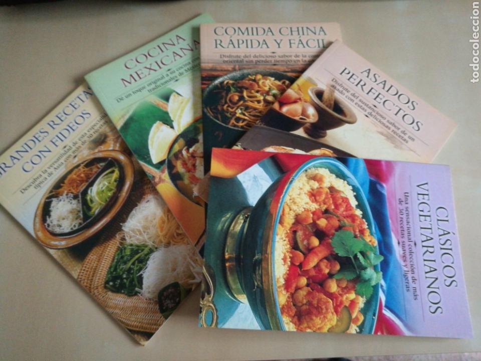 KIT 5 LIBROS COCINA «EDIMAT LIBROS» (Libros Nuevos - Ocio - Cocina y Gastronomía)