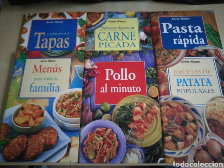 KIT 6 LIBROS COCINA ANNE WILSON (Libros Nuevos - Ocio - Cocina y Gastronomía)